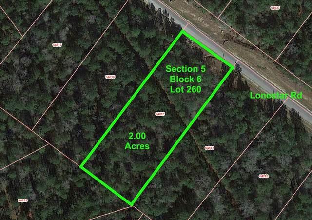 5-6-260 Lonestar Road, Huntsville, TX 77340 (MLS #83233241) :: Ellison Real Estate Team