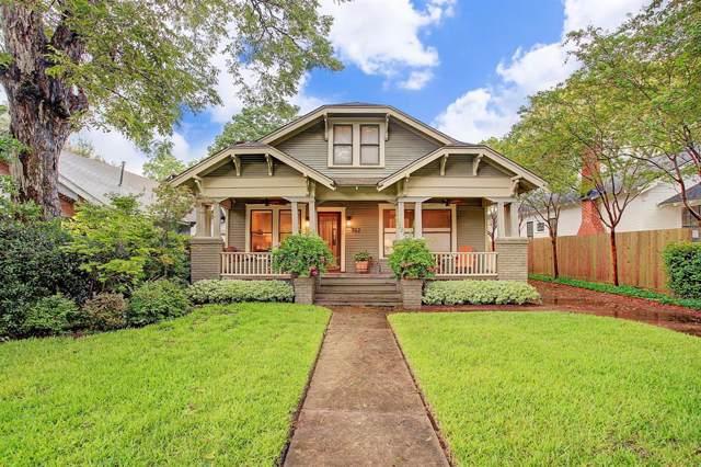 912 Heights Boulevard, Houston, TX 77008 (MLS #83607105) :: Giorgi Real Estate Group