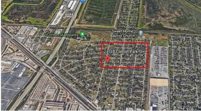 718 Clinton Park Street, Houston, TX 77029 (MLS #83798510) :: Green Residential