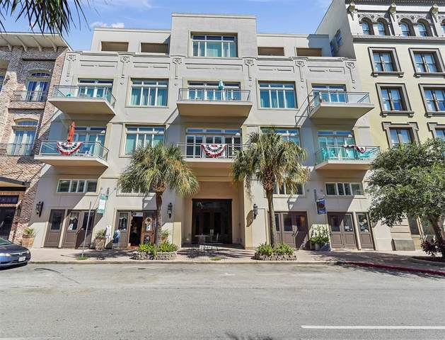 2208 Post Office Street #304, Galveston, TX 77550 (MLS #84400505) :: The SOLD by George Team