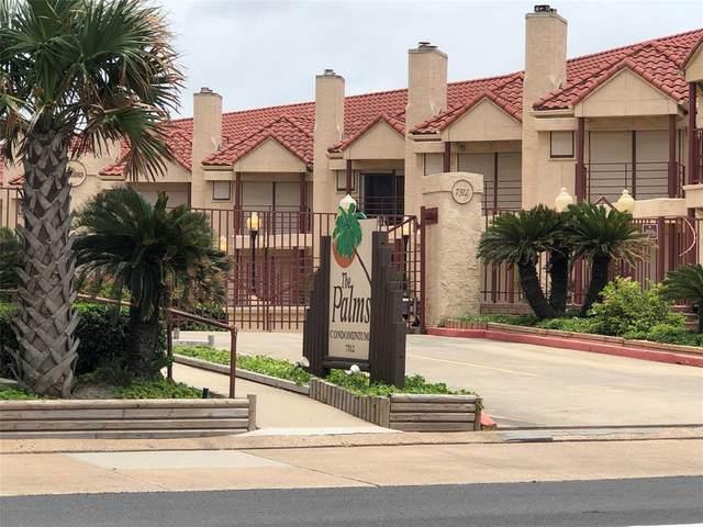 7312 Seawall Boulevard #119, Galveston, TX 77551 (MLS #84438729) :: Homemax Properties