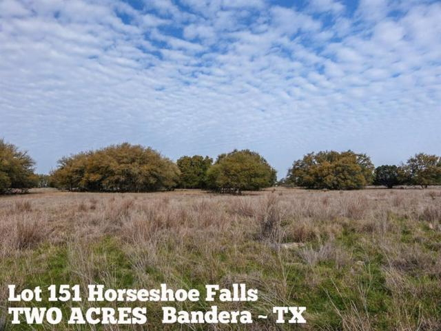 Lot 151 Horseshoe Falls, Bandera, TX 78003 (MLS #8456031) :: The Heyl Group at Keller Williams