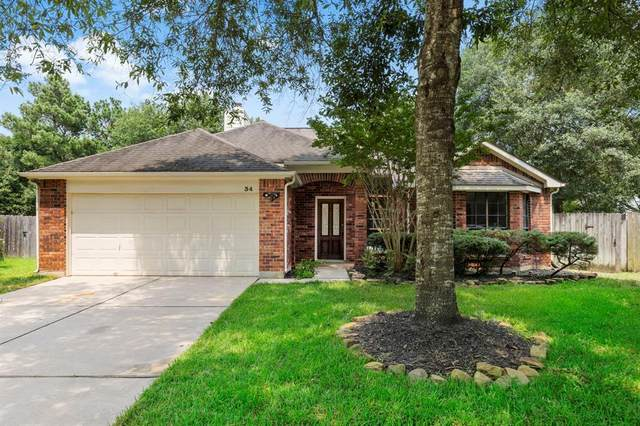 34 Green Slope Place, The Woodlands, TX 77381 (MLS #84730025) :: The Bly Team