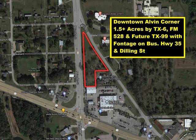 0 Business 35 Highway, Alvin, TX 77511 (MLS #84873729) :: The Freund Group
