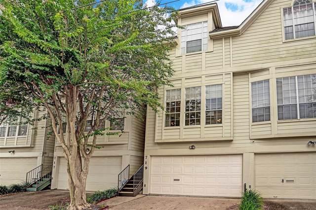 719 W Drew Street, Houston, TX 77006 (MLS #8490637) :: Giorgi Real Estate Group