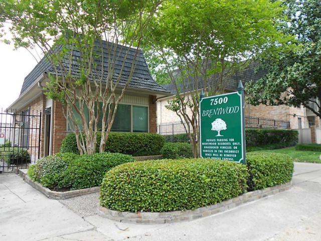 2400 N Braeswood Boulevard #121, Houston, TX 77030 (MLS #85030223) :: Magnolia Realty