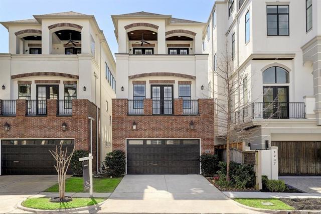 1235 W Bell Street B, Houston, TX 77019 (MLS #85186925) :: Green Residential