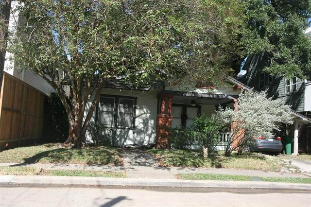 1218 Bomar Street, Houston, TX 77006 (MLS #85203645) :: The Queen Team