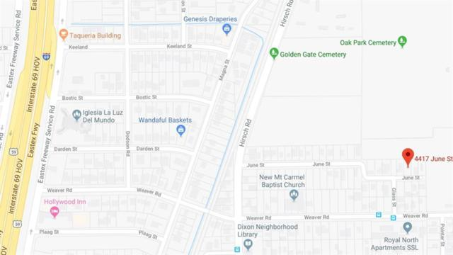 4417 June Street, Houston, TX 77016 (MLS #85259469) :: The Home Branch