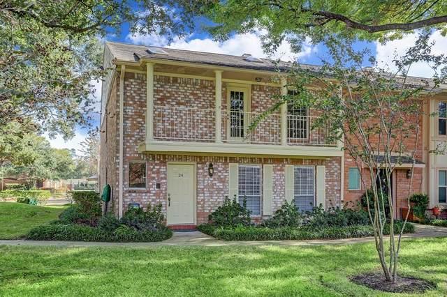 727 Bunker Hill Road #24, Houston, TX 77024 (MLS #85456201) :: Lerner Realty Solutions