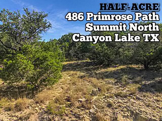 486 Primrose Path, Canyon Lake, TX 78133 (MLS #85463017) :: Giorgi Real Estate Group