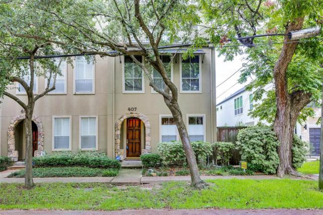 407 Roy Street, Houston, TX 77007 (MLS #85518114) :: Texas Home Shop Realty