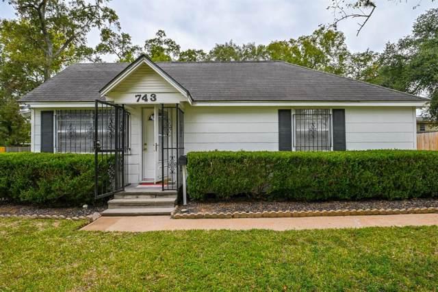 743 Yorkshire Street, Houston, TX 77022 (MLS #85660188) :: Texas Home Shop Realty
