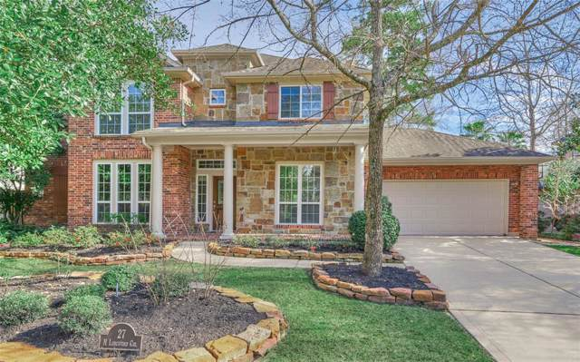 27 N Longsford Circle, The Woodlands, TX 77382 (MLS #85751640) :: Green Residential