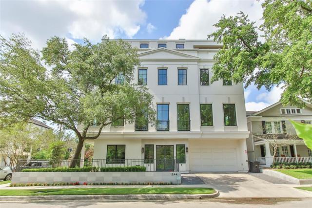 1244 W Pierce Street, Houston, TX 77019 (MLS #85960818) :: The Heyl Group at Keller Williams