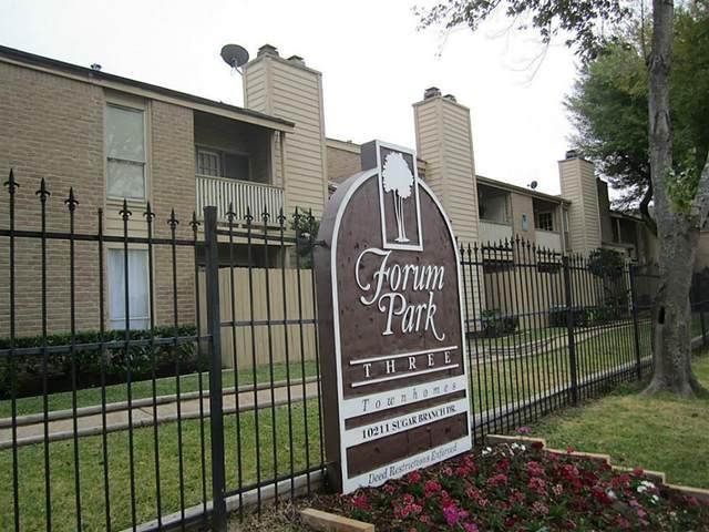 10211 Sugar Branch Drive #445, Houston, TX 77036 (MLS #86068508) :: Caskey Realty