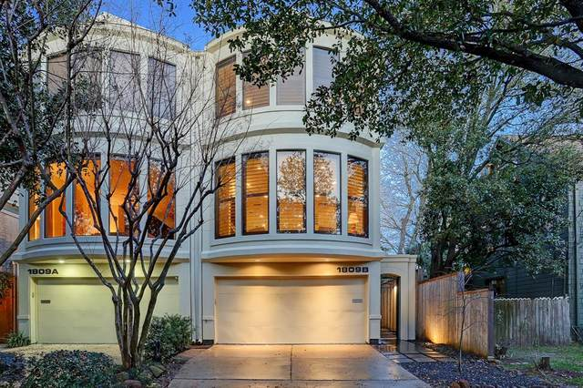 1809 Woodhead Street B, Houston, TX 77019 (MLS #86131989) :: Guevara Backman