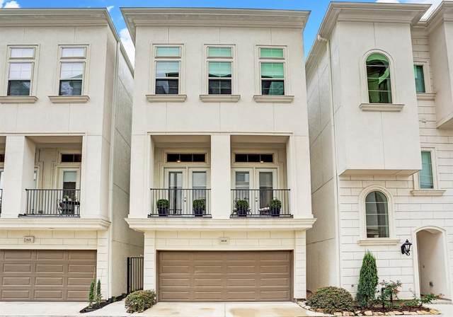 819 Leverkuhn Street, Houston, TX 77007 (MLS #86232010) :: Green Residential