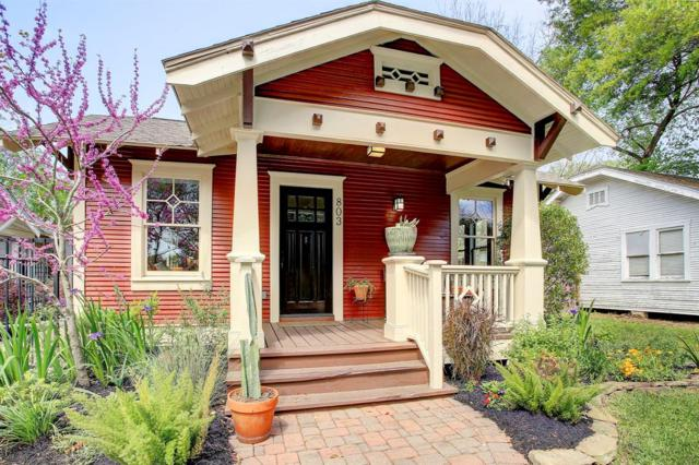 803 Peddie Street, Houston, TX 77008 (MLS #86249524) :: Green Residential