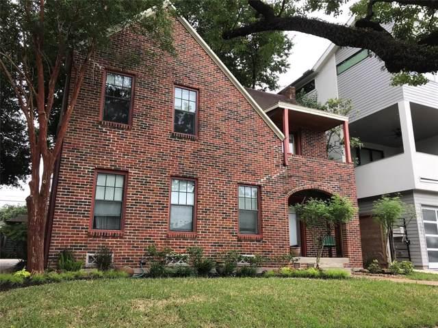 419 W Saulnier Street, Houston, TX 77019 (MLS #86266001) :: Giorgi Real Estate Group