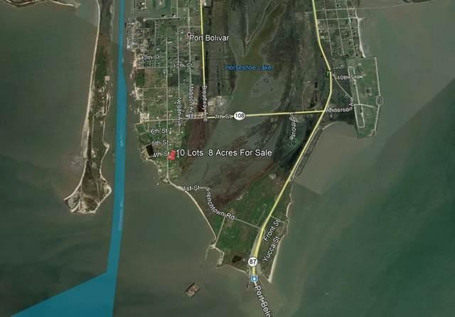 Lot 1,2,3,4 Overton Ave, Port Bolivar, TX 77650 (MLS #86334256) :: All Cities USA Realty