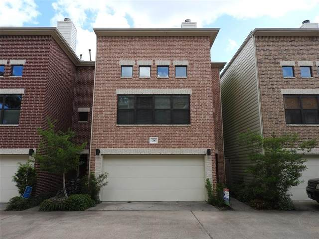 650 Westcross Street #38, Houston, TX 77018 (MLS #86410819) :: The Bly Team