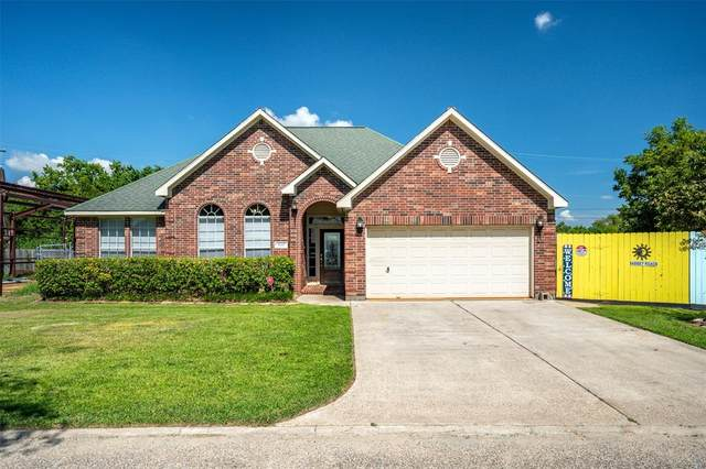8015 Bayview Drive, Beach City, TX 77523 (MLS #86600510) :: The Bly Team
