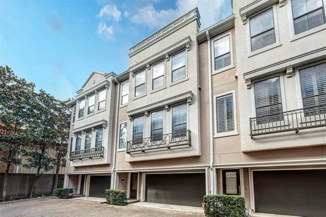 3302 Audley Street #110, Houston, TX 77098 (MLS #86641912) :: The Bly Team