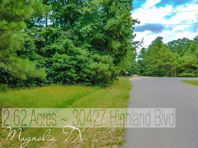 30427 Highland Boulevard, Magnolia, TX 77354 (MLS #87055154) :: Texas Home Shop Realty