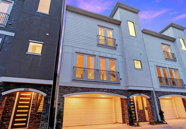 606 W 28th Street B, Houston, TX 77008 (MLS #87235675) :: Giorgi Real Estate Group