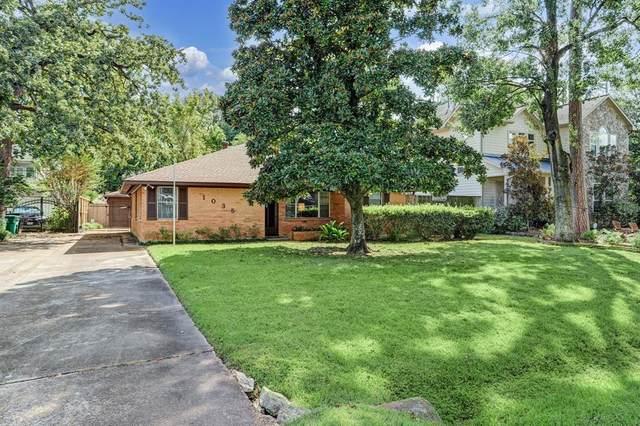 1035 Gardenia Drive, Houston, TX 77018 (MLS #87367739) :: Caskey Realty