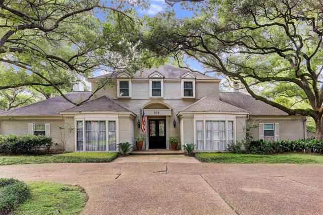 519 Hunterwood Drive, Hunters Creek Village, TX 77024 (MLS #8754674) :: Giorgi Real Estate Group