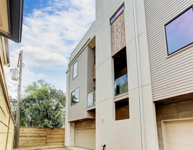 607 W Polk Street C, Houston, TX 77019 (MLS #87570065) :: Team Parodi at Realty Associates