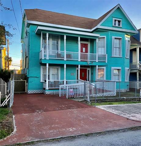 2313 Avenue O 1/2, Galveston, TX 77550 (MLS #87682031) :: The Parodi Team at Realty Associates