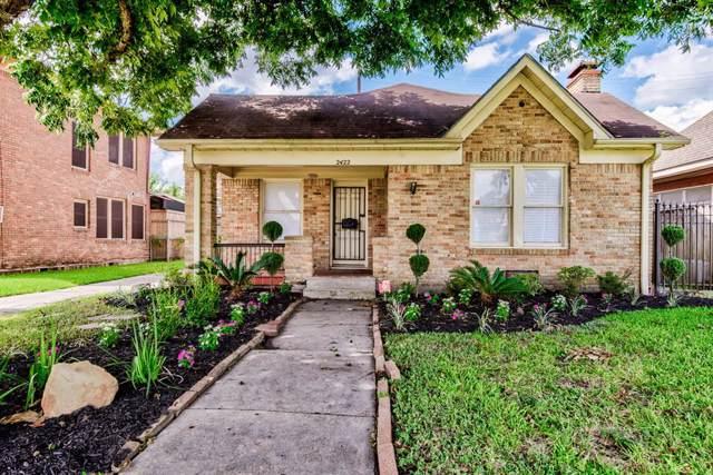 2422 Ruth Street, Houston, TX 77004 (MLS #87869231) :: The Queen Team