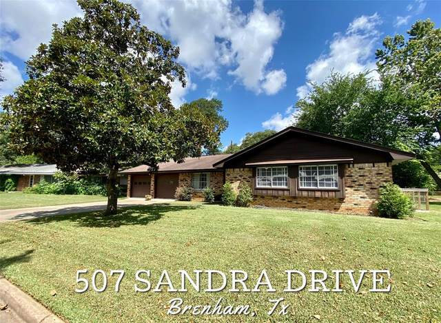 507 Sandra Drive, Brenham, TX 77833 (MLS #87897902) :: The Sansone Group