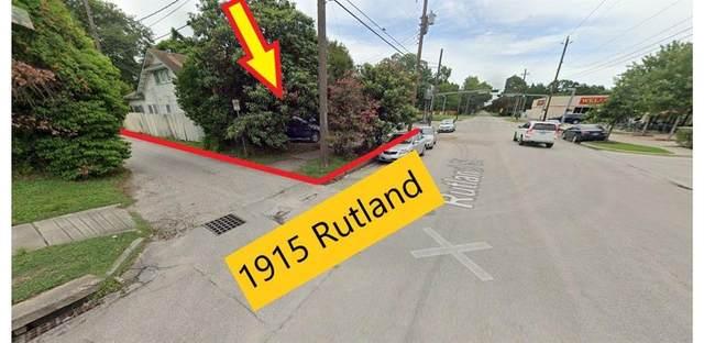 1915 Rutland Street, Houston, TX 77008 (MLS #87915488) :: Green Residential