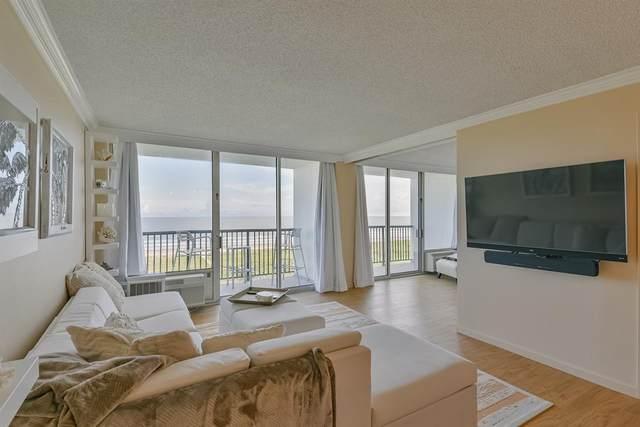415 E Beach Drive #709, Galveston, TX 77550 (MLS #88139983) :: Caskey Realty
