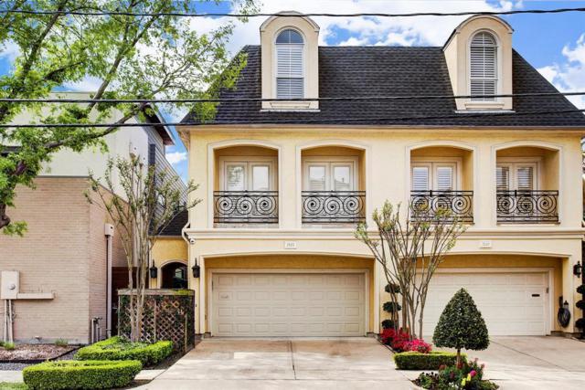 2122 Mcduffie Street, Houston, TX 77019 (MLS #88391077) :: Giorgi Real Estate Group