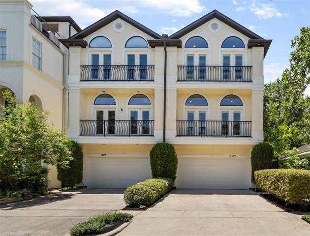1309 W Bell Street, Houston, TX 77019 (MLS #88838125) :: Fine Living Group