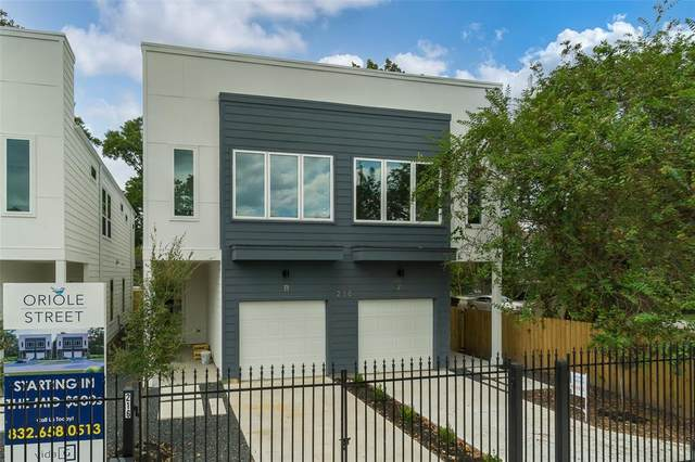 216 Oriole Street B, Houston, TX 77018 (MLS #88889433) :: The SOLD by George Team