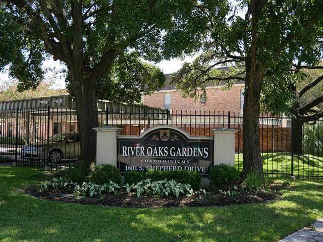 1601 S Shepherd Drive #127, Houston, TX 77019 (MLS #88948942) :: Glenn Allen Properties