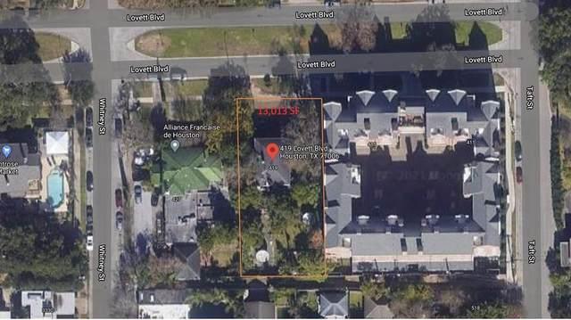 419 Lovett Boulevard, Houston, TX 77006 (MLS #89467433) :: Green Residential