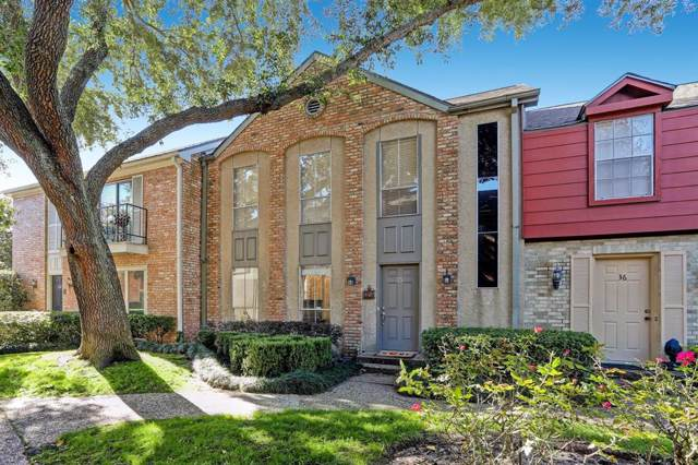 2323 Augusta Drive #35, Houston, TX 77057 (MLS #89721435) :: Green Residential