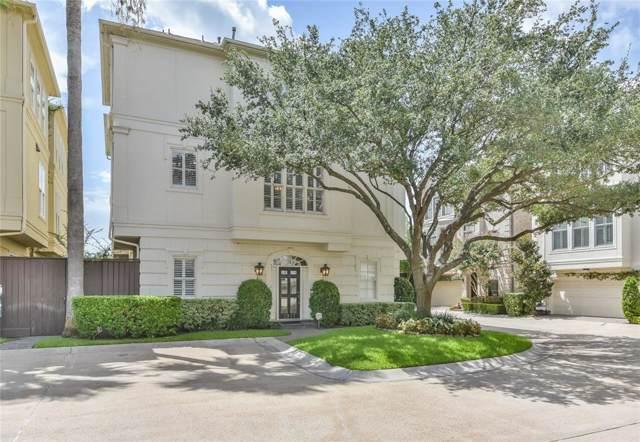 1917 Greenwich Place Drive, Houston, TX 77019 (MLS #90039301) :: The Parodi Team at Realty Associates