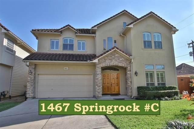 1467 Springrock Lane C, Houston, TX 77055 (MLS #90060567) :: NewHomePrograms.com LLC