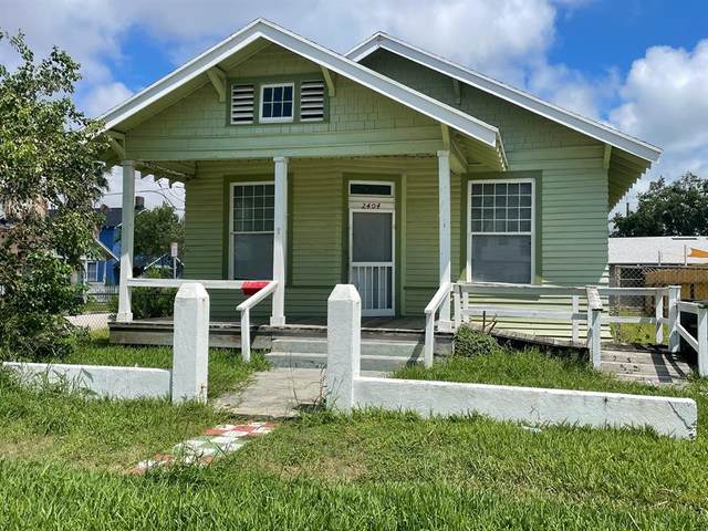2404 33rd Street, Galveston, TX 77550 (MLS #90110782) :: Caskey Realty