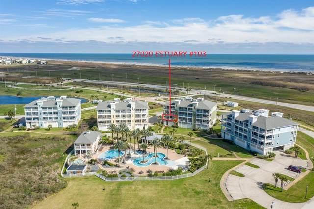 27020 Estuary Drive #103, Galveston, TX 77554 (MLS #90209898) :: Green Residential