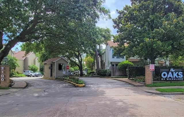 2100 Tanglewilde Street #357, Houston, TX 77063 (MLS #90756875) :: The SOLD by George Team