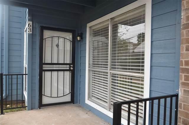 10001 Westpark Drive Drive #63, Houston, TX 77042 (MLS #9116423) :: Rachel Lee Realtor